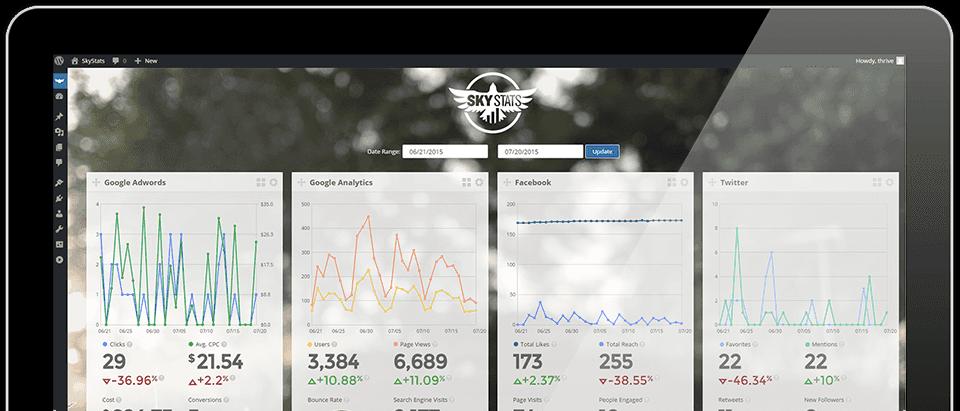 SkyStats WordPress Plugin