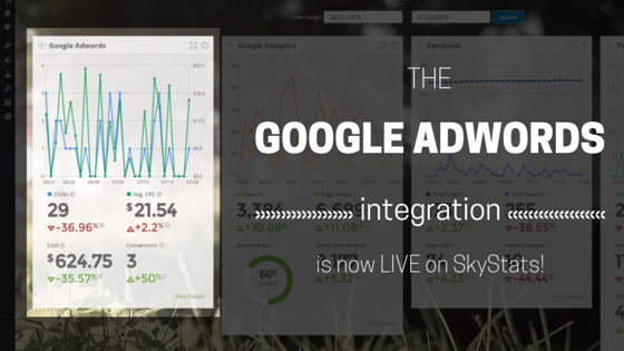 Google Adwords dashboard for WordPress