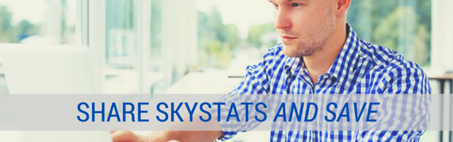 Share SkyStats For Discount Code